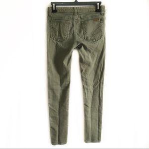 Joe's Jeans   Girls green skinny jeans 14